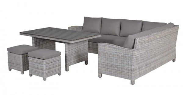 Lounge Dining Set Vancouver 5 Teilig Links Passion Willow
