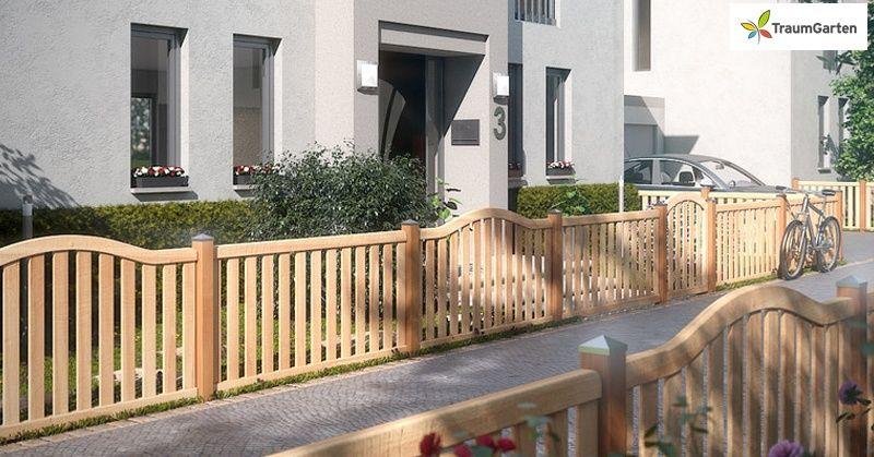 traumgarten vorgartenzaun raja hartholz. Black Bedroom Furniture Sets. Home Design Ideas
