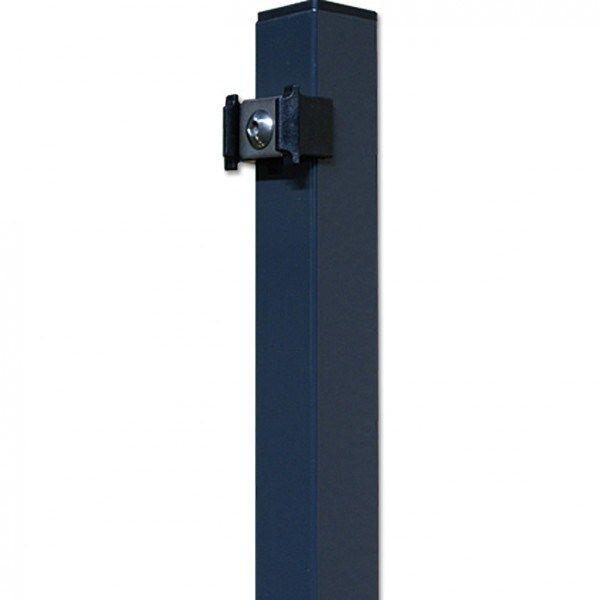 Pfosten für Doppelstabmatte Sichtschutzzaun 183cm anthrazit