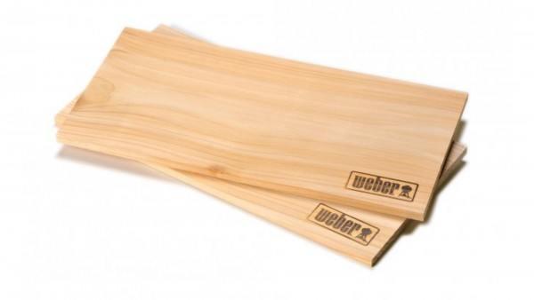 Weber Räucherbretter - Zedernholz gross, 2 Stück