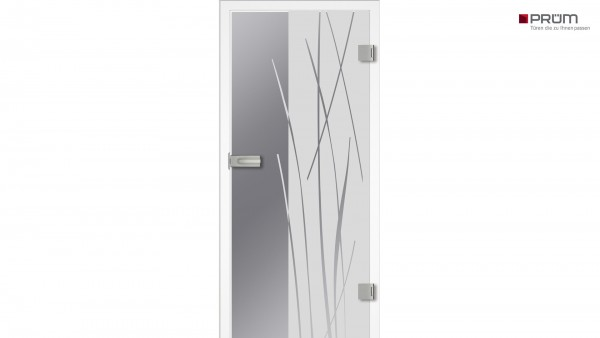 Prüm Ganzglastürblatt Design Bambus