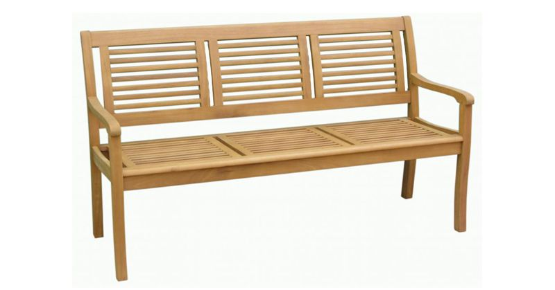 gartenbank eukalyptus 3 sitzer 160cm. Black Bedroom Furniture Sets. Home Design Ideas