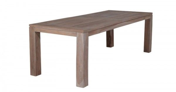 Tisch Mexiko 240x100x76 cm Teak grey
