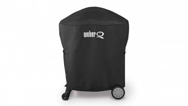 Weber Abdeckhaube Premium auf Stand oder Rollwagen