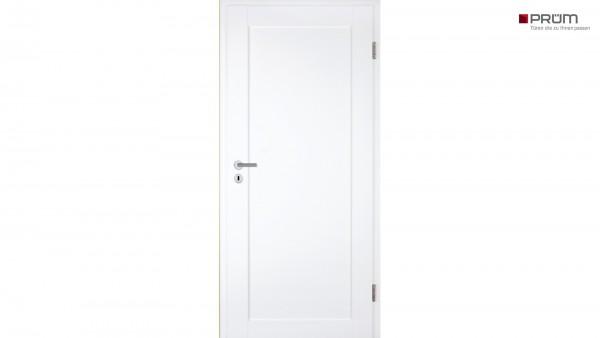 Prüm Zimmertür Stil Weißlack ST1 Rundkante