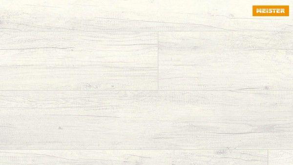 Gut bekannt Meister Laminatboden LD 95 Eiche weiß deckend 6536, Landhausdiele UT41