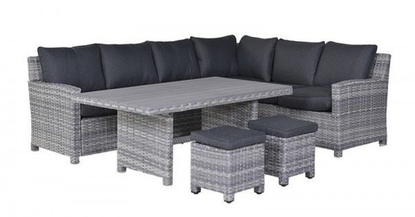 lounge dining set seagull 5 teilig cloudy grey reflex black rechts loungem bel gartenm bel. Black Bedroom Furniture Sets. Home Design Ideas