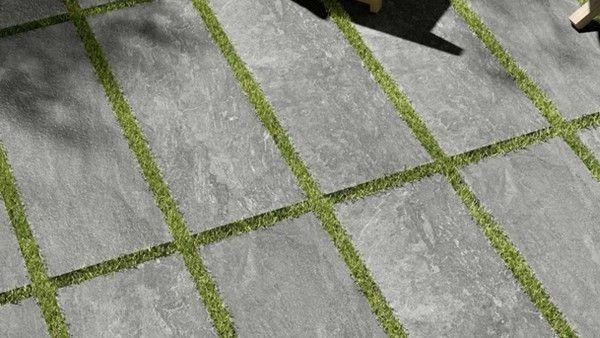 Aktion Terrassenplatte Outdoor Natursteinoptik Grigio