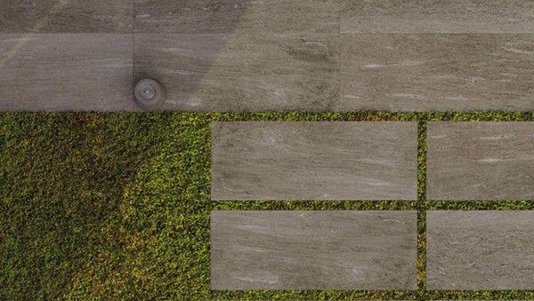 Aktion Terrassenplatte Outdoor Natursteinoptik Greige