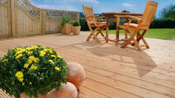 Terrassendiele Douglasie grob/fein in 2m, 3m oder 4m