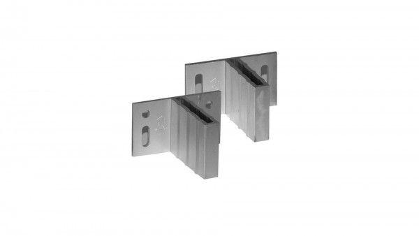Aluminium T-Beschläge 6er-Set
