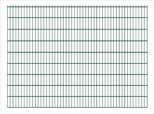 Doppelstabmatte Sichtschutzzaun 251x183 cm anthrazit