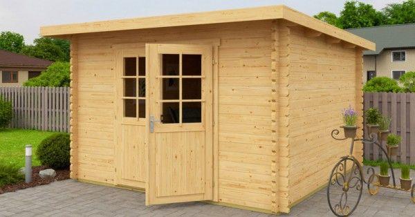 Gartenhaus Fußboden Versiegeln ~ Gartenhaus cm mm blockhaus
