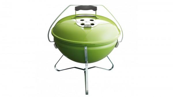 Weber Holzkohlegrill Bewertung : Weber holzkohlegrill smokey joe premium 37cm spring green
