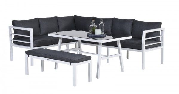 lounge dining set blakes 14 teilig gartenm bel set loungem bel. Black Bedroom Furniture Sets. Home Design Ideas