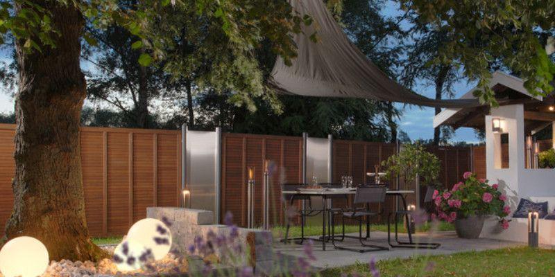 traumgarten sichtschutz zaun grazia sichtschutzzaun z une sichtschutz garten. Black Bedroom Furniture Sets. Home Design Ideas