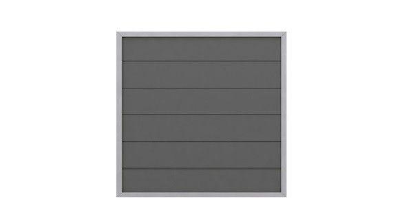 sichtschutzzaun design anthrazit wpc aluminium sichtschutzzaun z une sichtschutz garten. Black Bedroom Furniture Sets. Home Design Ideas