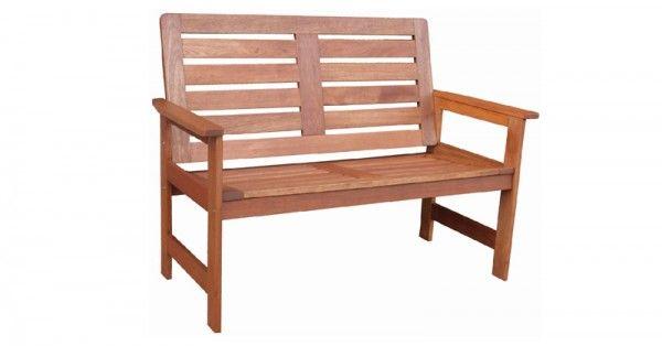 gartenbank vera hartholz 120cm. Black Bedroom Furniture Sets. Home Design Ideas