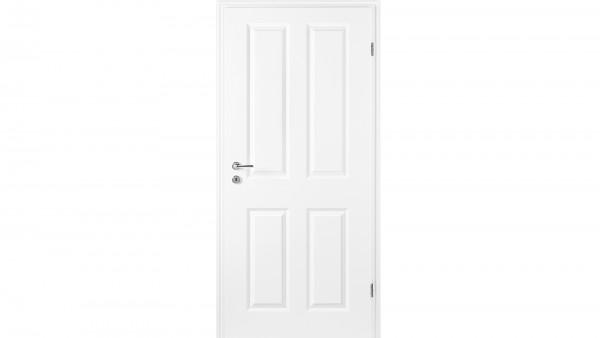 Zimmertür Weißlack RSP Eckkante