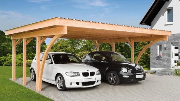 Seitenwand-Bausatz für Carport 130 x 190 cm